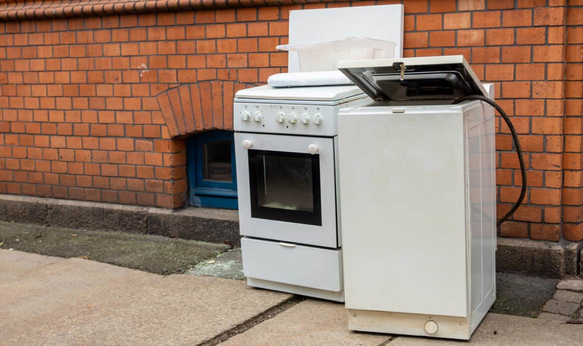 Appliance removal services in London
