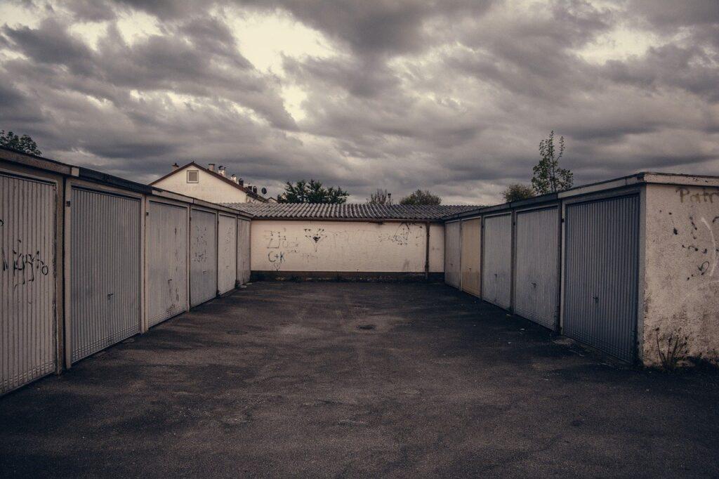 lot, garage, parking